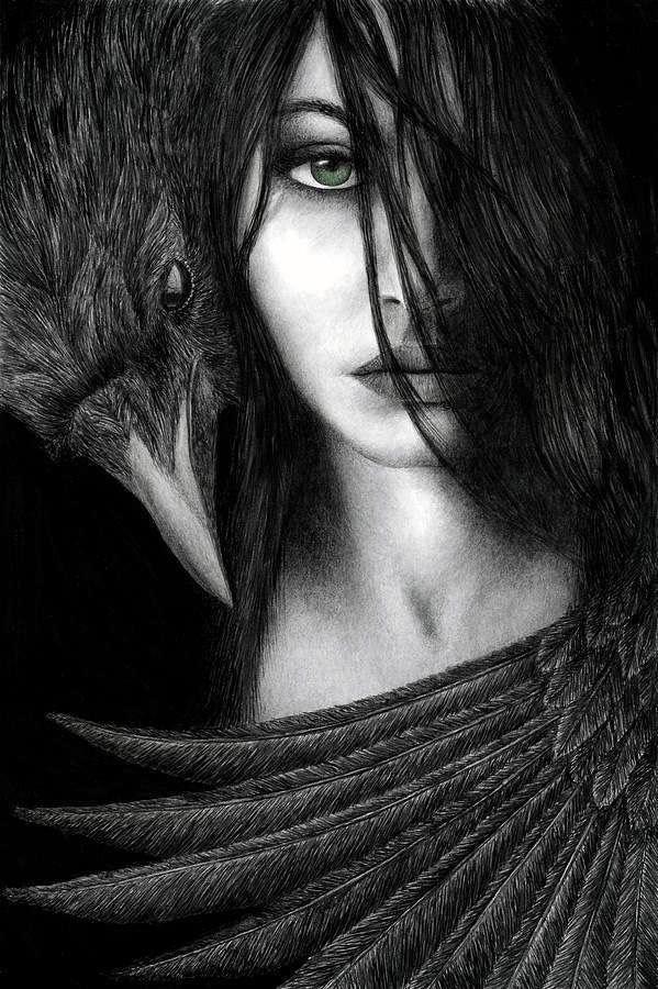 La mujer del cuervo